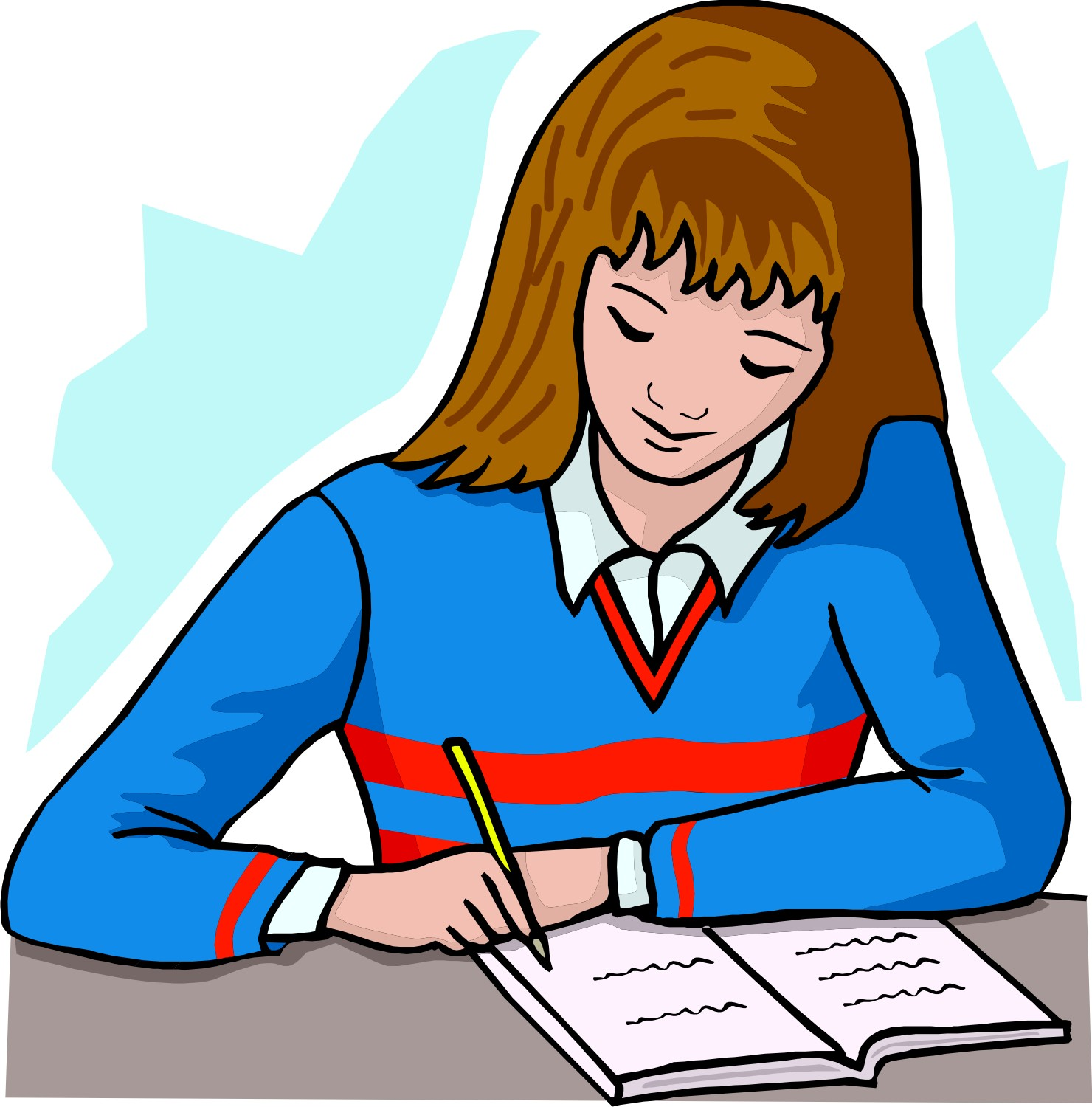 Help children do homework clipart : Online Writing Lab