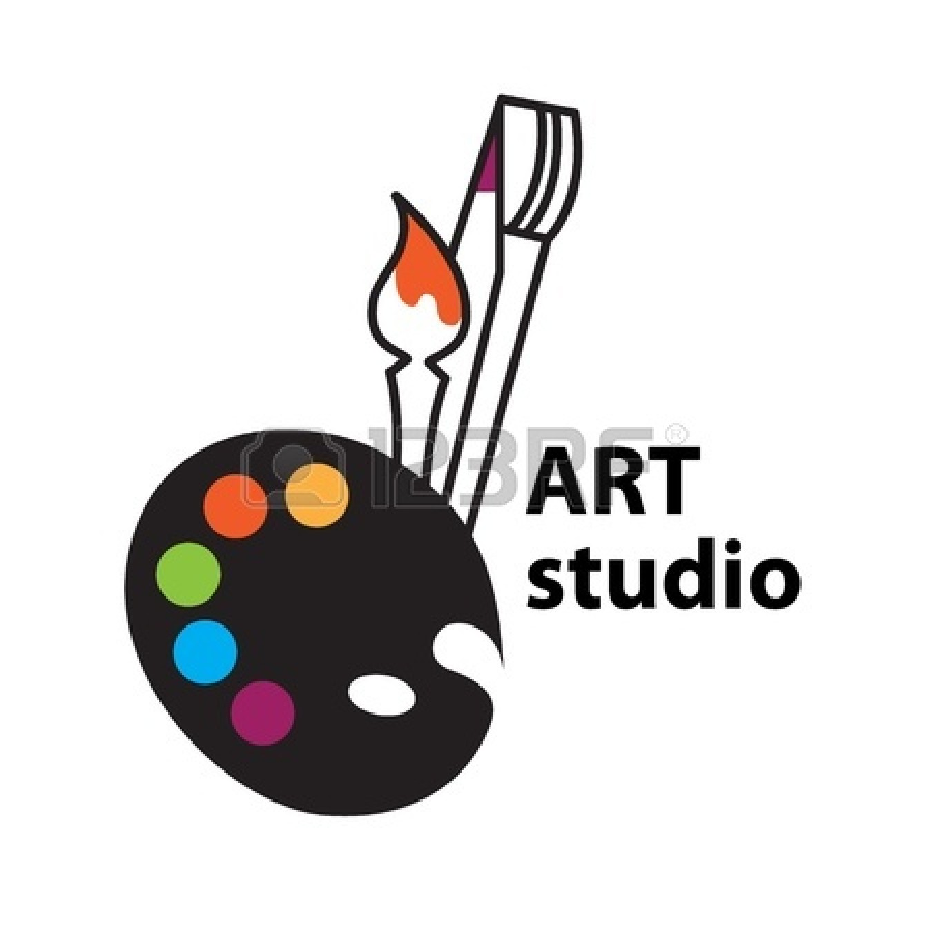 studio palette icon clip clipart sign illustration clipartpanda vector brush presentations websites reports powerpoint projects these