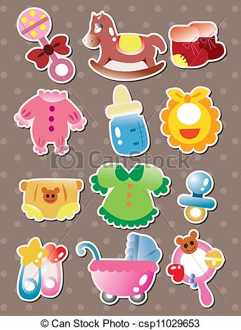 vector baby stuff stickers clipart panda free clipart images rh clipartpanda com baby girl stuff clipart baby supplies clipart