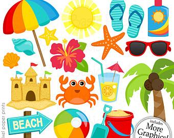 Clip Art Of Beach Stuff | Clipart Panda - Free Clipart Images
