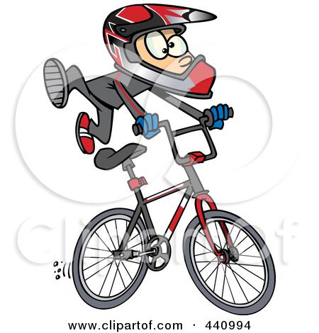 Kid Biker Art
