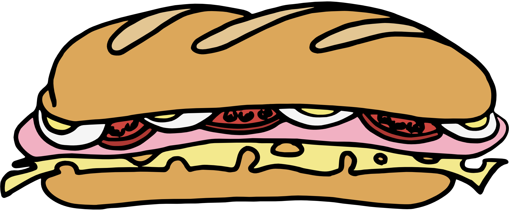sandwich clipart clipart panda free clipart images Meatball Sub Sandwich Clip Art Cartoon Sub Sandwich