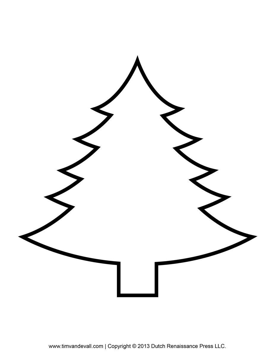 Living Christmas Tree Clipart Christmas Tree Clipart Black