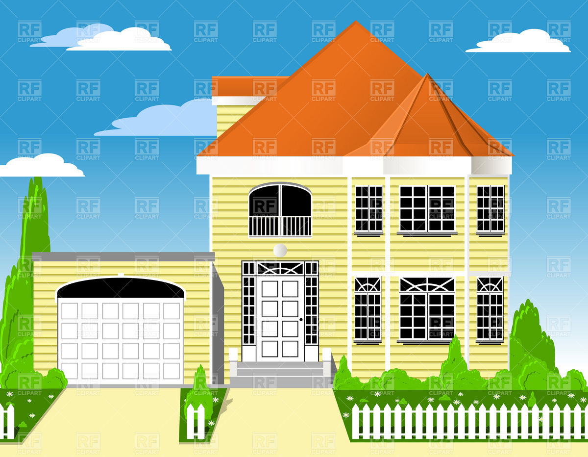Suburban clipart clipart panda free clipart images for House images free download