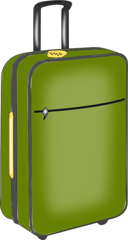 this green luggage clip art is clipart panda free clipart images rh clipartpanda com suitcase clip art public domain suitcase clip art public domain