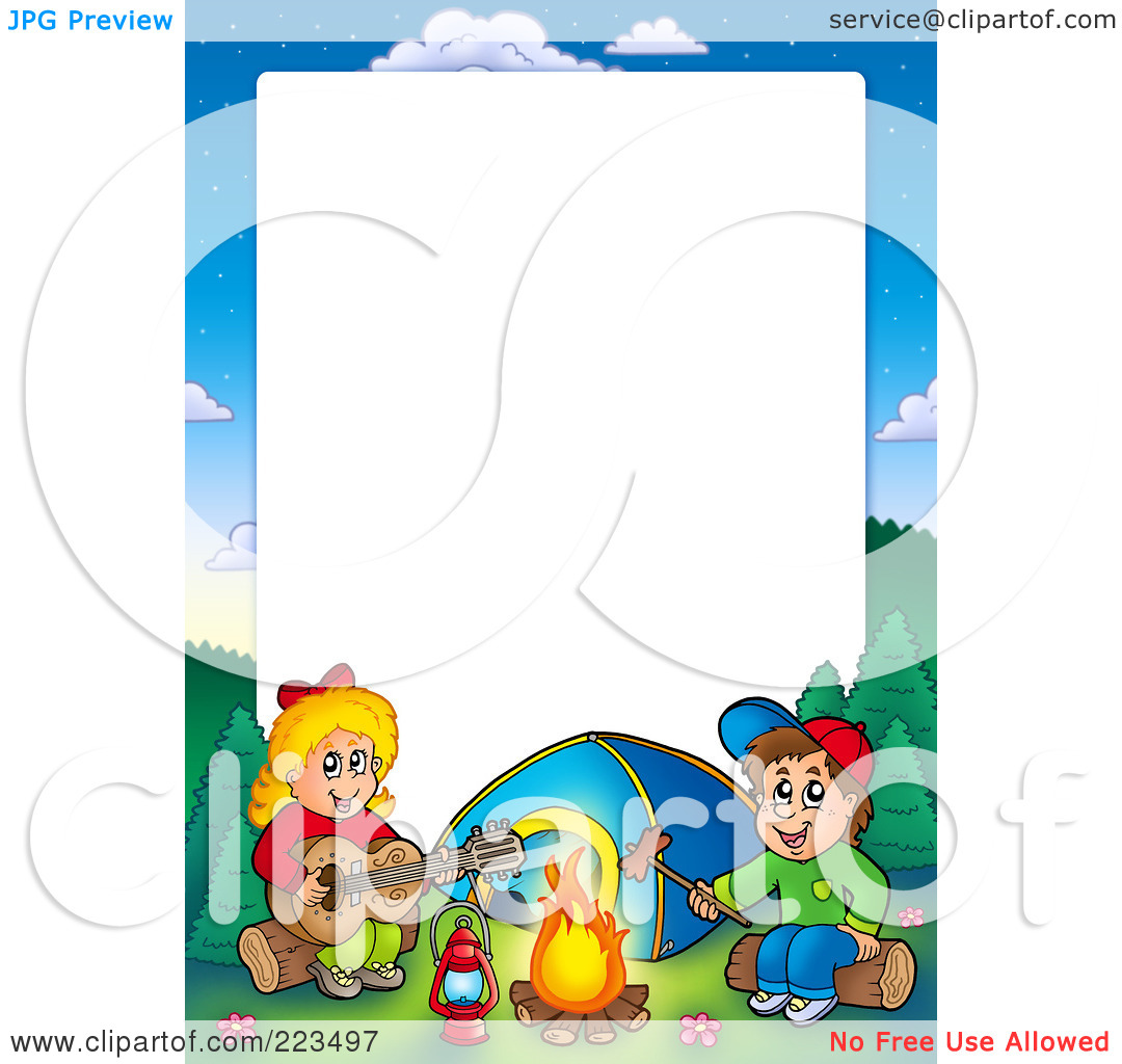 Summer camp border clipart free images 4 - Summer 20camp 20border 20clipart
