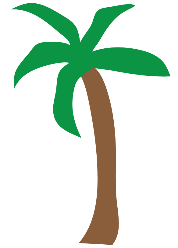 palm tree sunset clipart orange sunset palm trees beach clip art.jpg