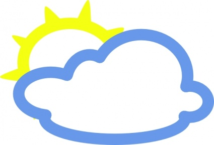 sun cloud clipart clipart panda free clipart images rh clipartpanda com free sun and clouds clipart Sun with Shades Clip Art
