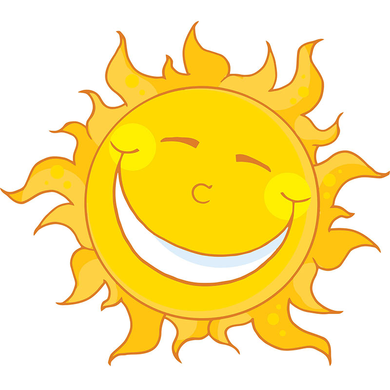 Happy Sun Clipart No Background
