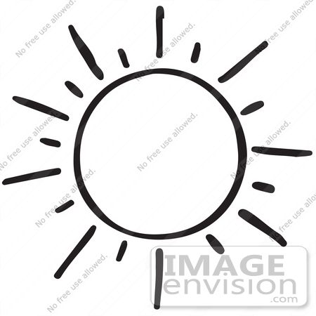 Sun With Sunglasses Clipart Black And White | Clipart ...