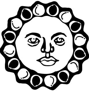 Happy Sun Clipart Black And White | Clipart Panda - Free Clipart ...