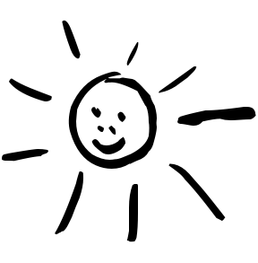 Sun Clipart Black And White | Clipart Panda - Free Clipart Images