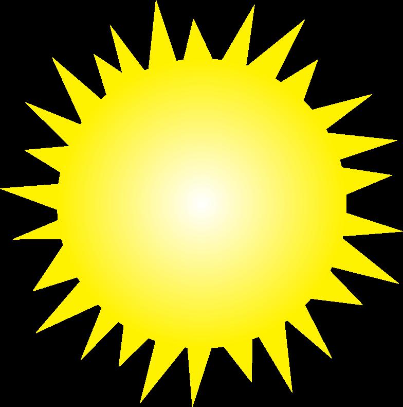 Sun Clipart Black And White | - 77.8KB