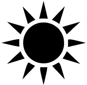 black sun clip art vector clipart panda free clipart images rh clipartpanda com free vector halftone dot pattern Black Half Sun Vector