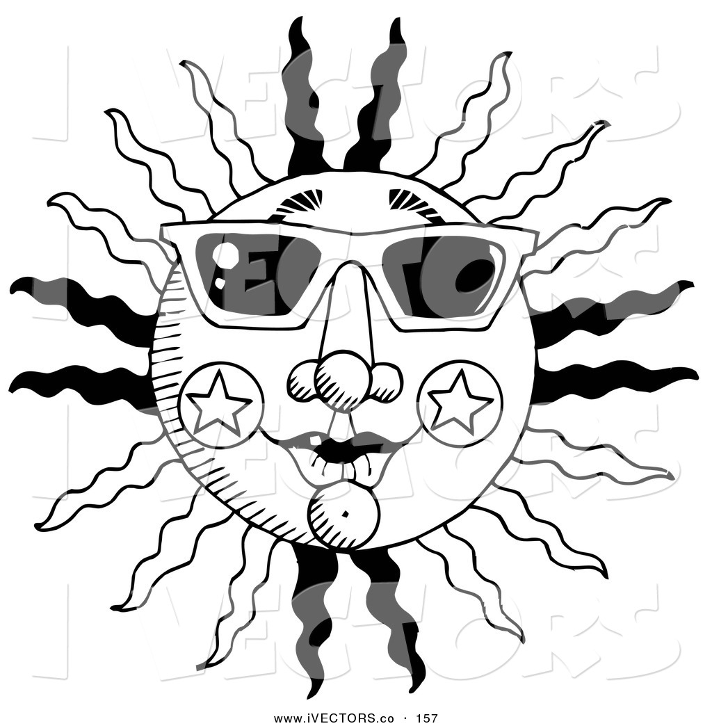 Summer Clipart Black And White | Clipart Panda - Free Clipart Images