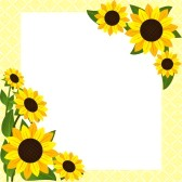 Sunflower Border Clipart | Clipart Panda - Free Clipart Images