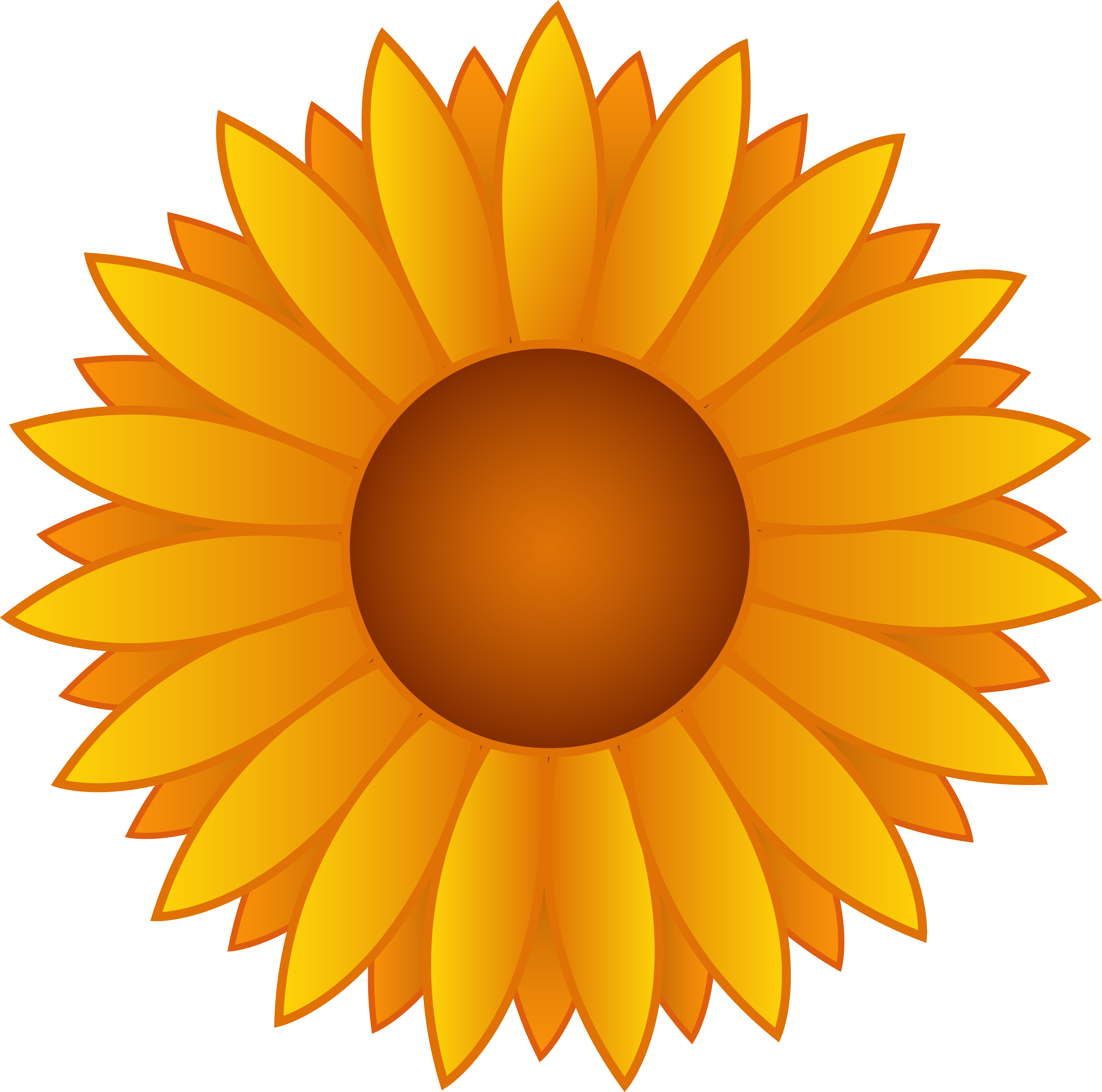 Sunflower clip art free printable clipart panda free clipart