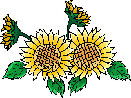 photograph relating to Sunflower Printable known as Sunflower Clip Artwork Free of charge Printable Clipart Panda - Absolutely free