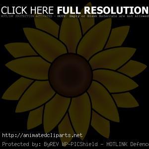 Sunflower Clip Art