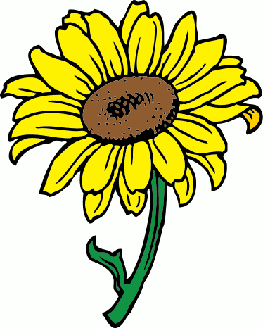 image relating to Printable Sunflower referred to as Sunflower Clip Artwork Absolutely free Printable Clipart Panda - Absolutely free