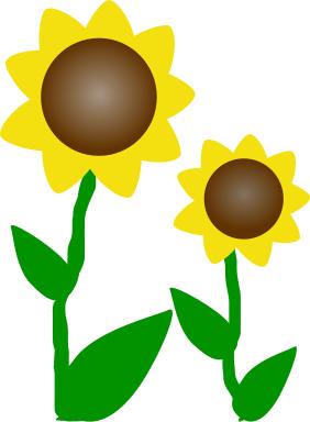 Printable Sunflower Clip Art