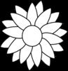 Black And White Sunflower Clip Art | Clipart Panda - Free ...