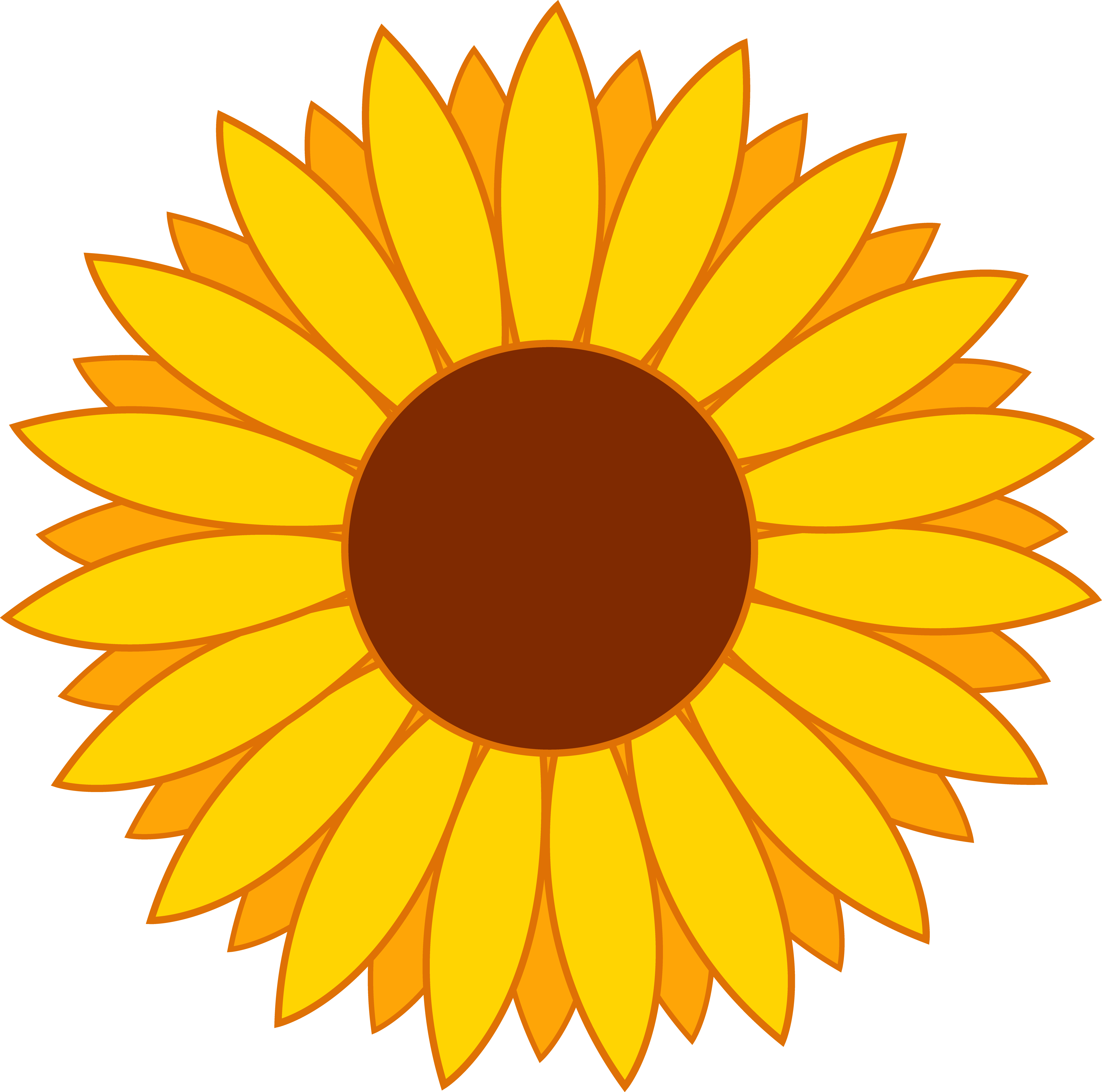 sunflower clip art free printable clipart panda free sunflower clip art free sunflower clip art outline