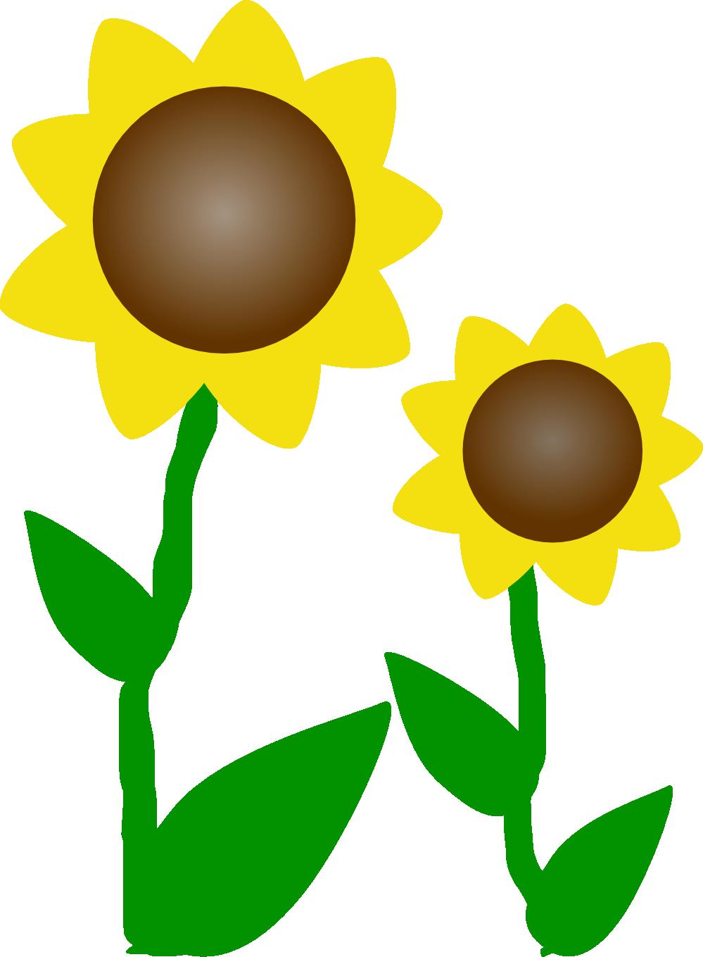 Sun Flowers Clip Art