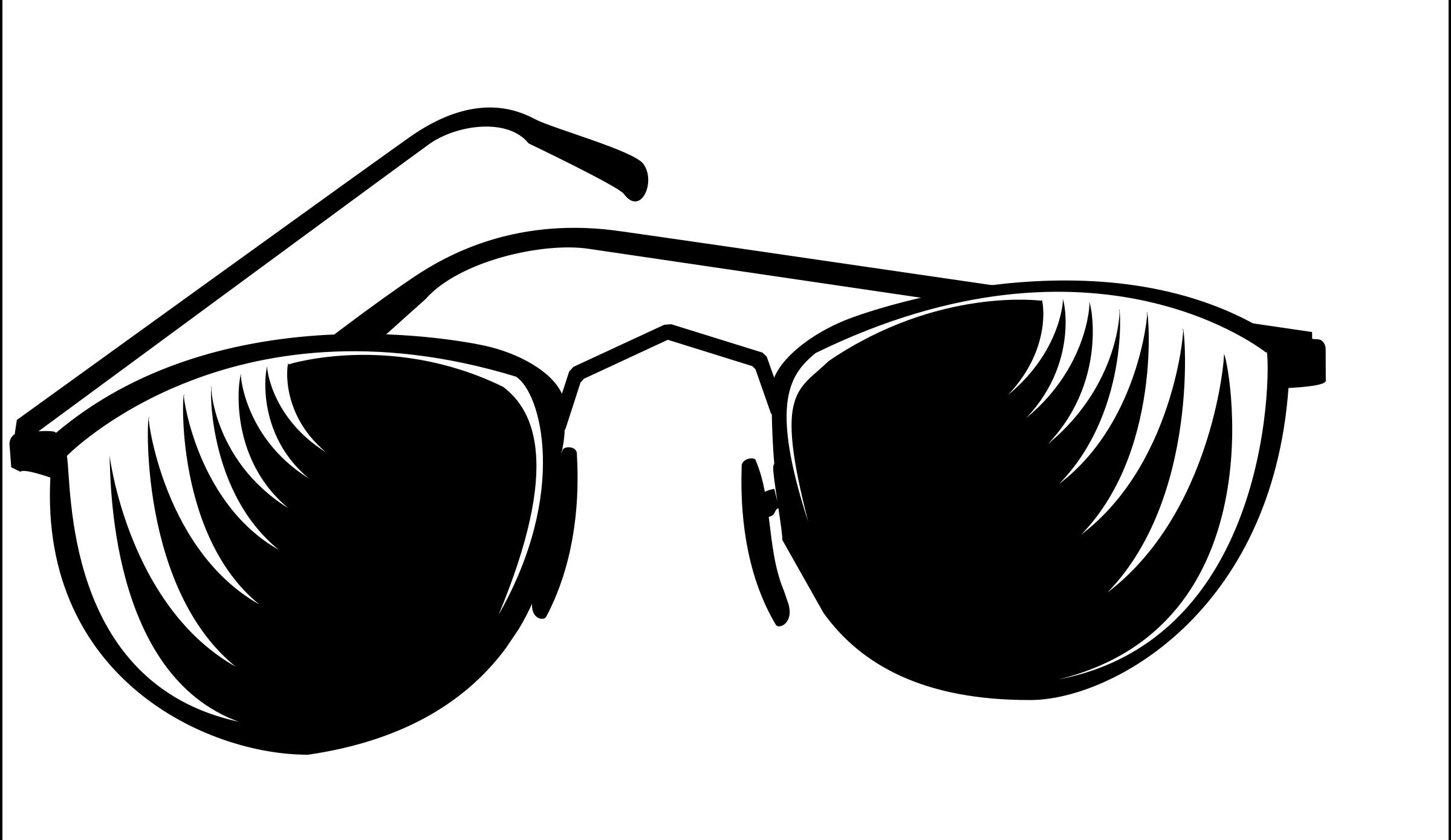Sunglasses Clip Art Black And White | Clipart Panda Free Clipart ...