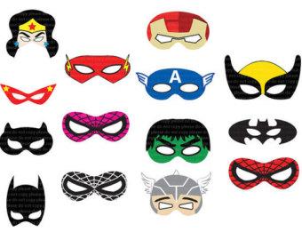Super Hero Mask Clip Art | Clipart Panda - Free Clipart Images