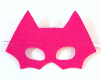 Pink Mask - Superhero Mask