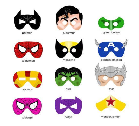 Printable Superhero Masks Clipart Panda Free Clipart