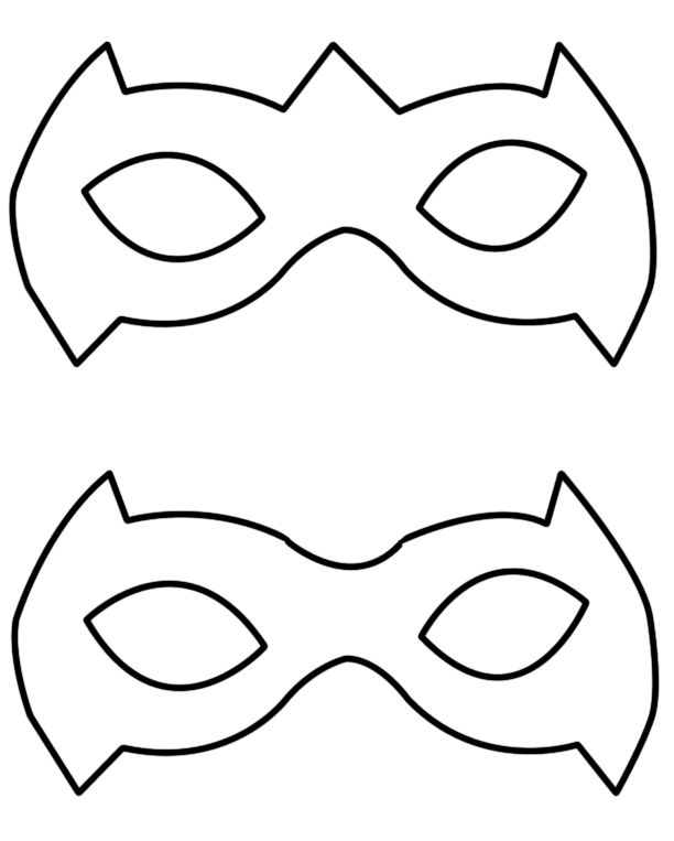 Superhero Mask Template Superhero Ideas Free Printable Masquerade