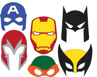 superhero masks svg files clipart panda free clipart images