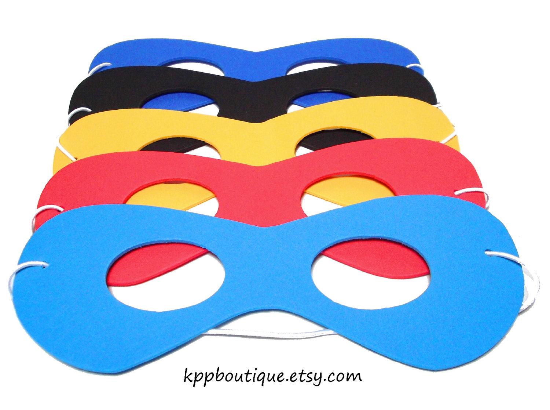 Diy Superhero Mask Foam