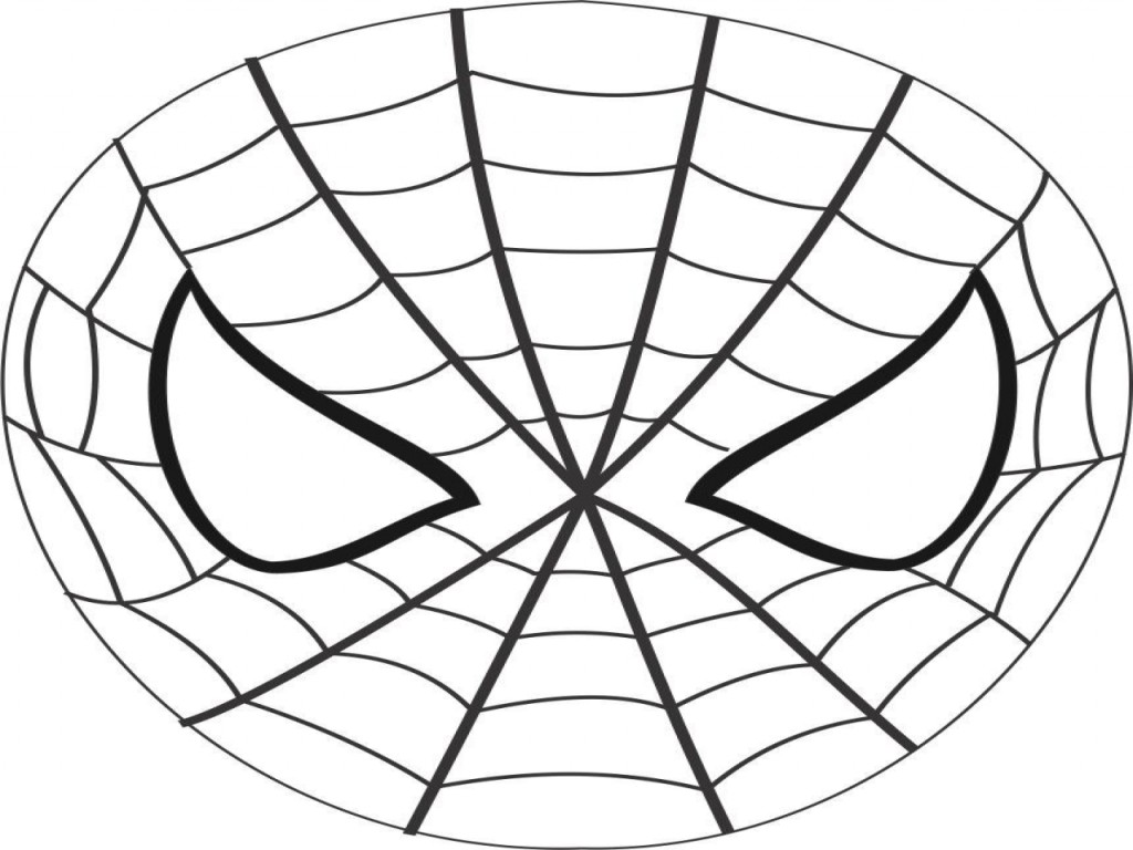 coloring pages spiderman masks - photo#8