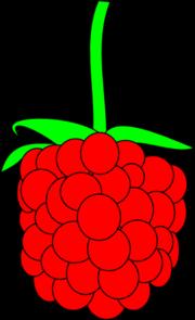 simple raspberry clip art clipart panda free clipart images rh clipartpanda com strawberry clip art black and white strawberry clip art images