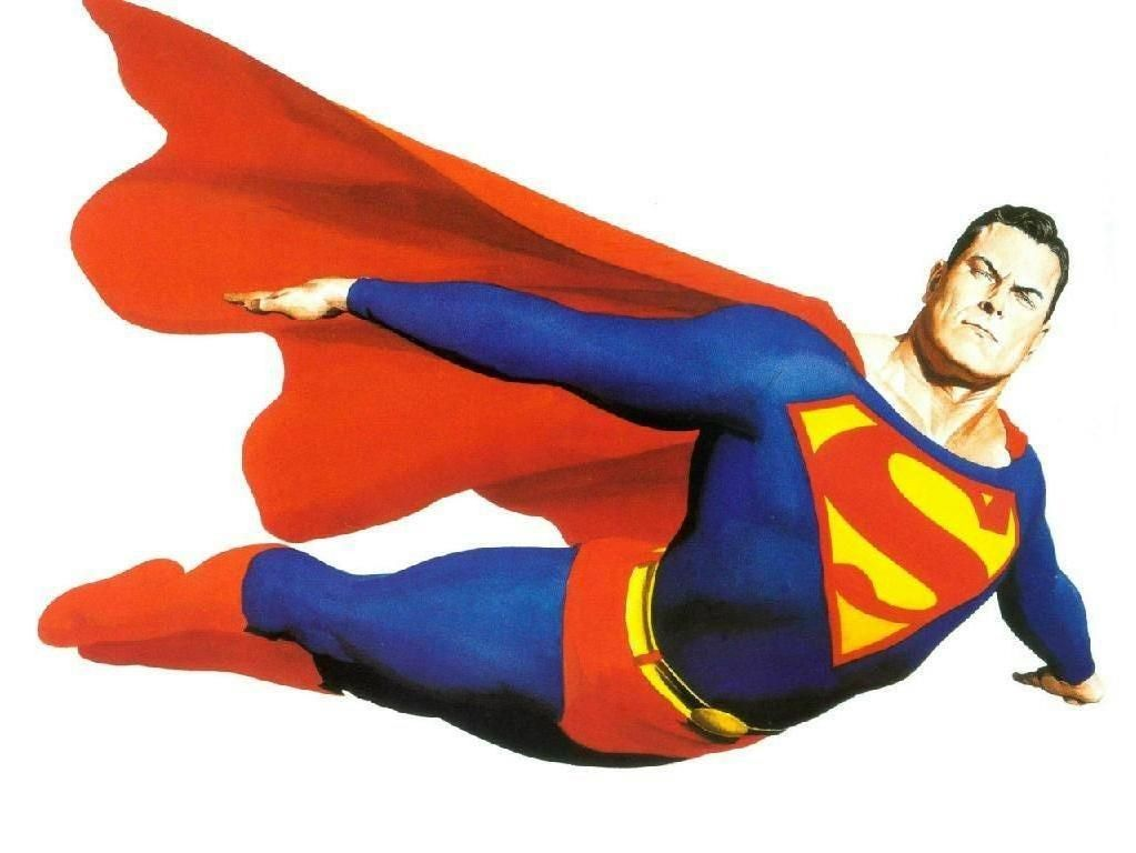 clipart superman flying - photo #20