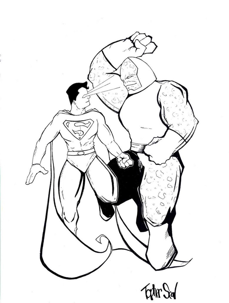 Superman Clipart Black And White | Clipart Panda - Free Clipart Images