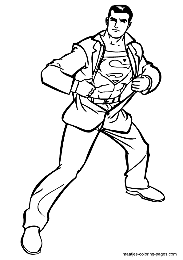 superman coloring pages superman coloring