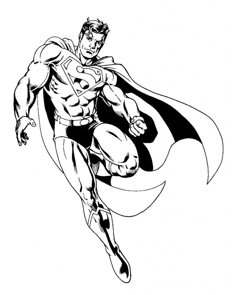 Permalink to Batman Superman Coloring Pages