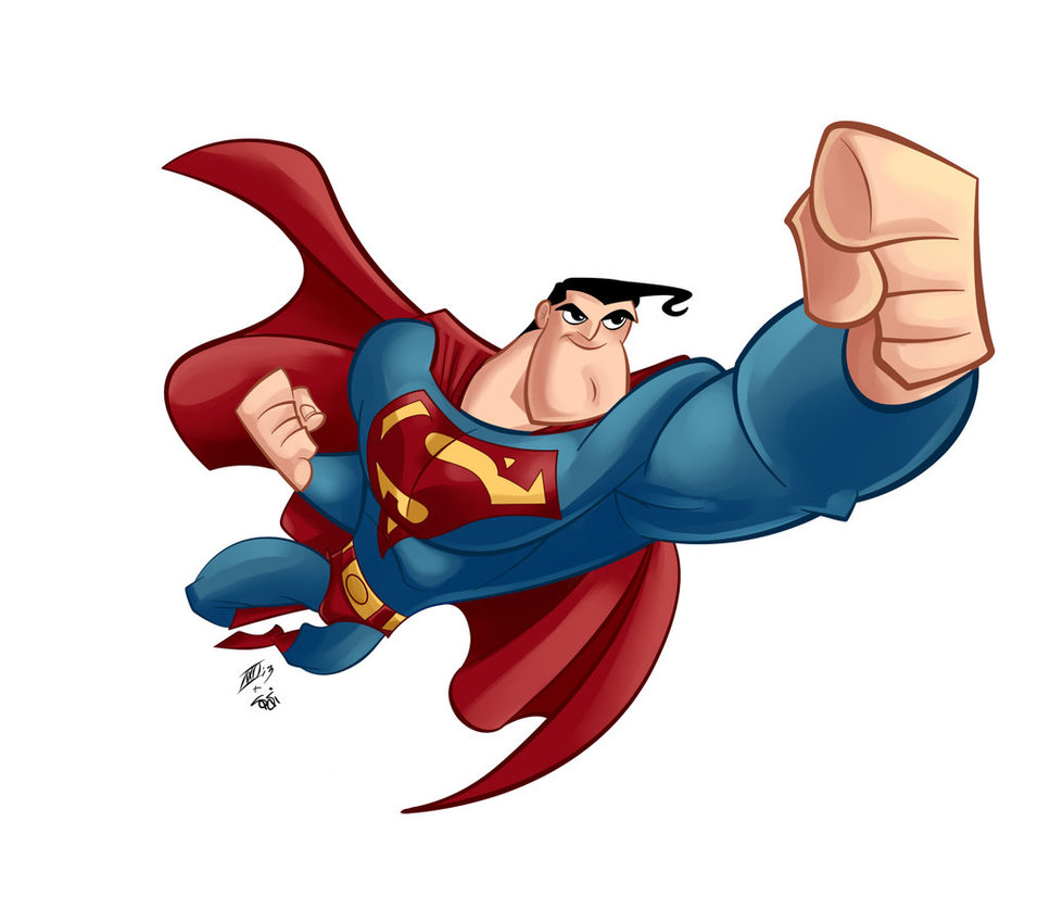 clipart superman flying - photo #30