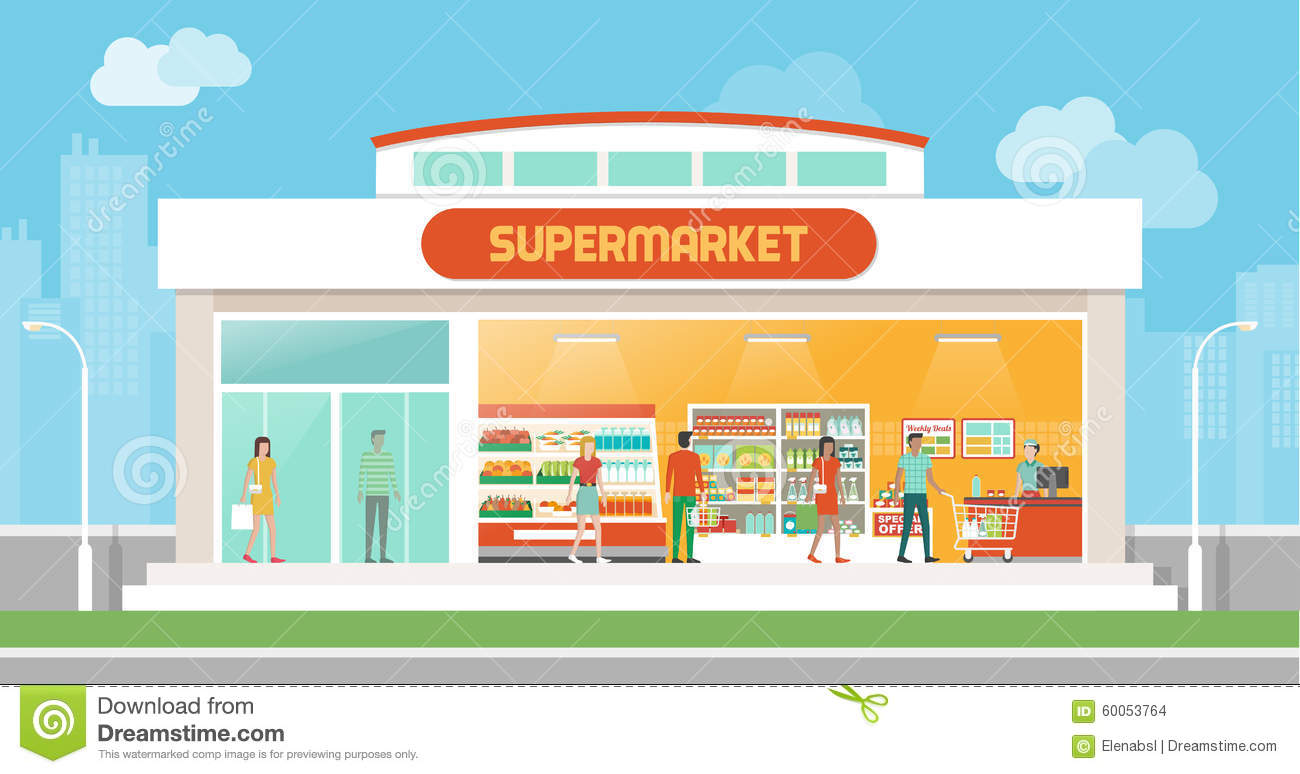 Supermarket Clipart | Clipart Panda - Free Clipart Images