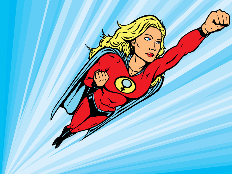 superwoman flying clipart panda   free clipart images