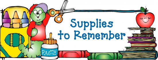 Image result for supplies clip art