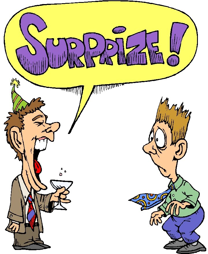 Surprise Birthday Party Clip Art Clipart Panda Free Clipart Images