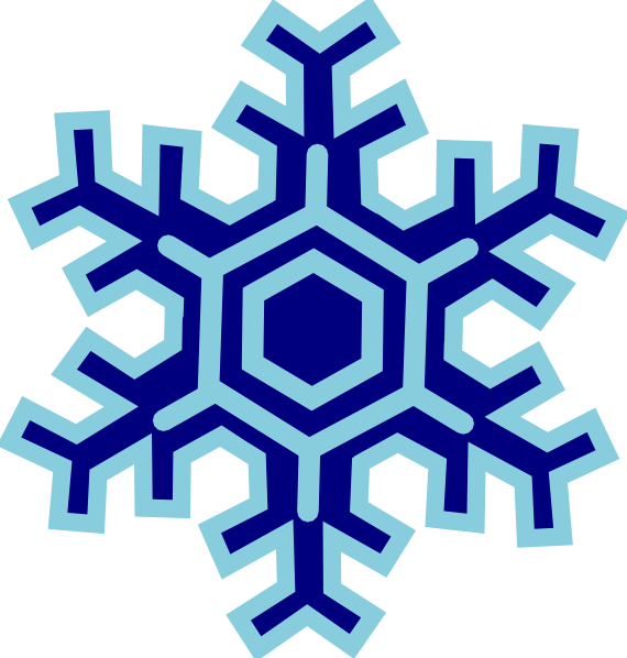Winter Snowflakes Cli