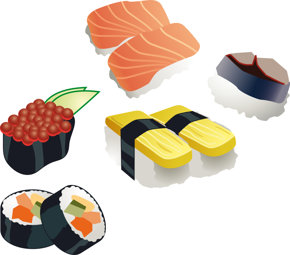 sushi clip art clipart panda free clipart images rh clipartpanda com sushi clipart gif sushi clipart images
