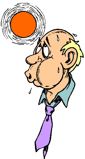 Person Sweating Cartoon | Clipart Panda - Free Clipart Images