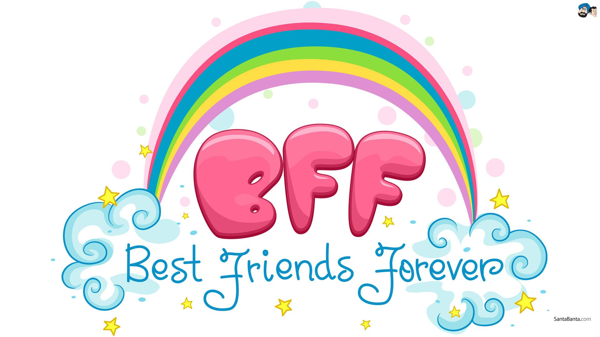 hd best friend forever | clipart panda - free clipart images